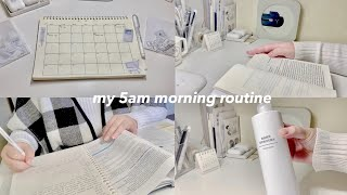my productive 5am morning routine ✧‧˚