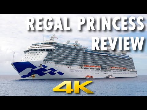 Regal Princess Tour & Review ~ Princess Cruises ~ Cruise Ship Tour & Review [4K Ultra HD]
