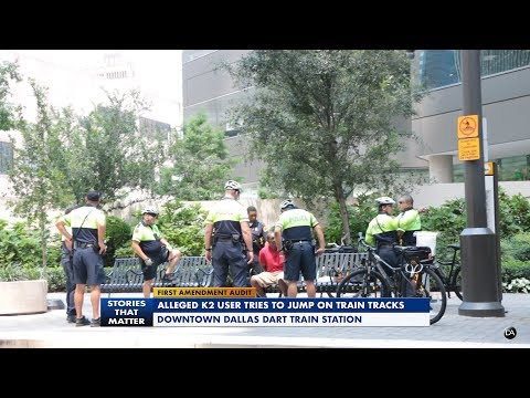 First Amendment Audit - Dallas PD Detain Alleged K2 User