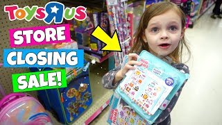 TOY HUNT AT TOYS R US! STORE CLOSING SALE! NUM NOMS SCORE!