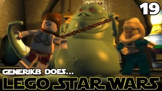 "LEGO STAR WARS The Complete Saga Ep 19 - ""Jabba The Hutt!!!"""