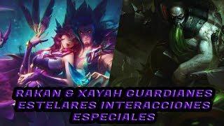 Rakan & Xayah Guardianas Estelares Interacciones Especiales PBE