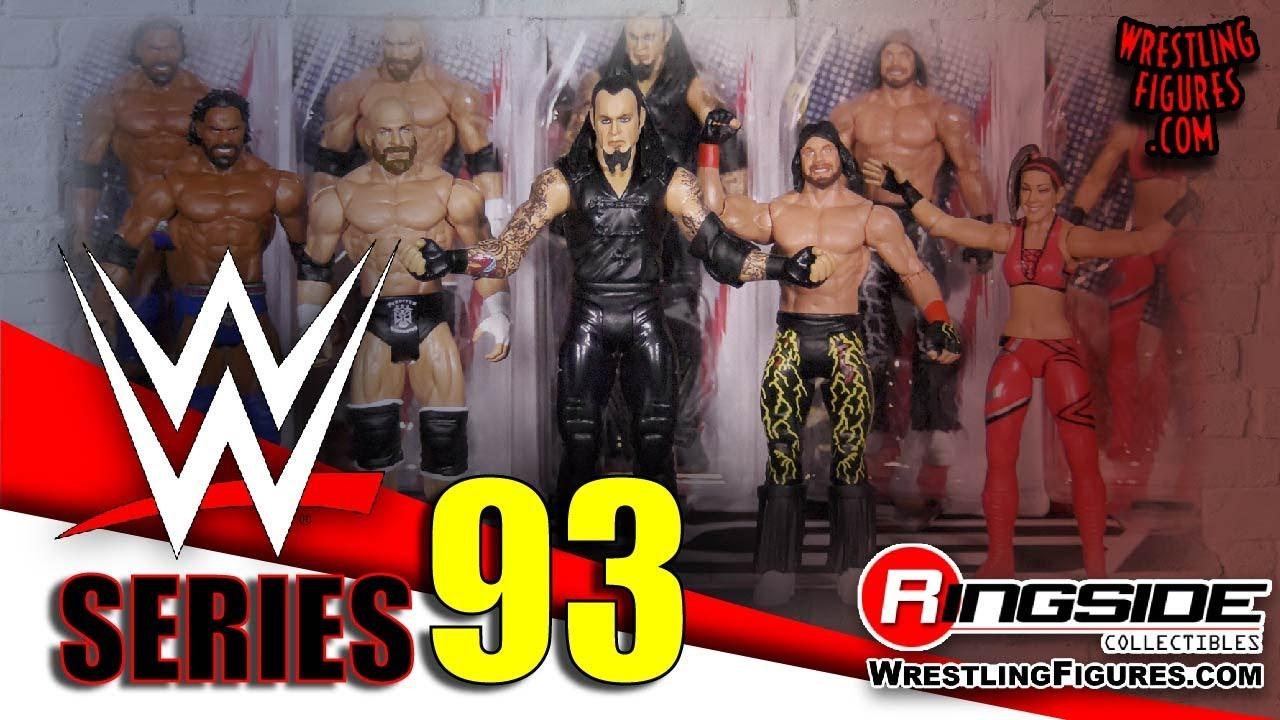 Triple H WWE Series 93 Mattel Toy Wrestling Action Figure