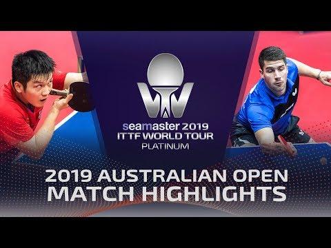 Fan Zhendong Vs Patrick Franziska   2019 ITTF Australian Open Highlights (R16)