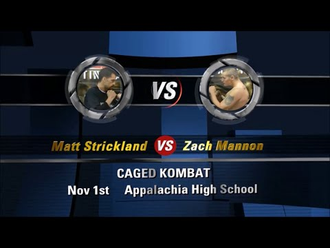 Matt Strickland VS Zach Mannon