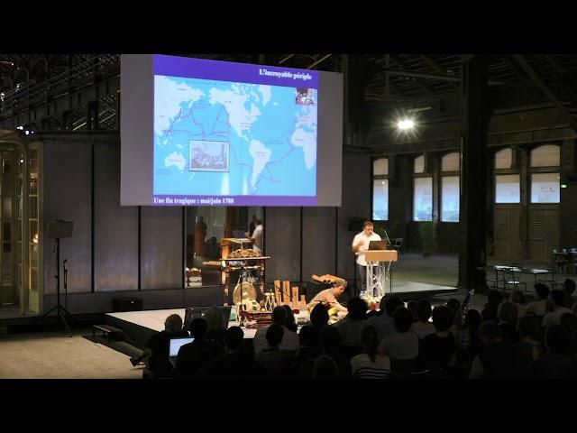 SIPPA 2018 Conférence :  L'archéologie sous-marine « Le mystère des épaves Lapérouse à Vanikoro »