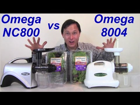 Kuvings Whole Slow Juicer Vs Omega Nc800 : Best Juicer for Making Almond Nut Milk - The Omega vRT 330HD or Omega 8004 ? FunnyCat.Tv
