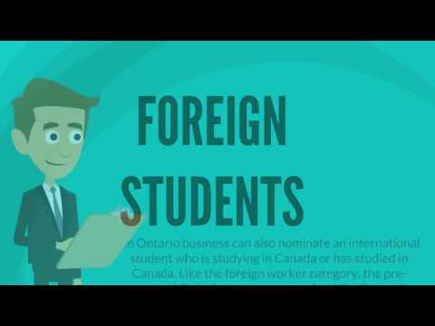 Foreign Student Immigration - Matthew Jeffery, Toronto Immigration Lawyer