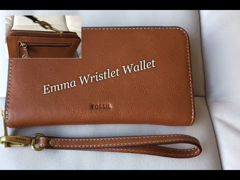 RFID Wristlet Fossil Emma Brown Wallet - Review  #40