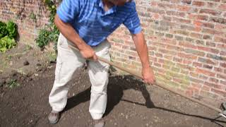 weeding and preparing your garden