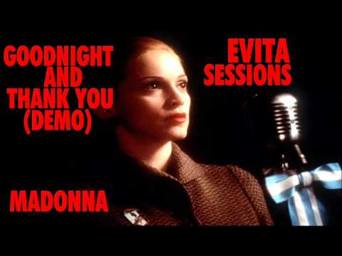 Madonna - Goodnight And Thank You (Demo)