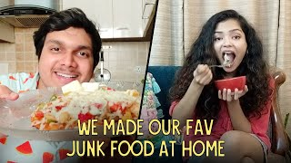 We Made Our Fav Junk Food At Home | Made From Home | Ok Tested