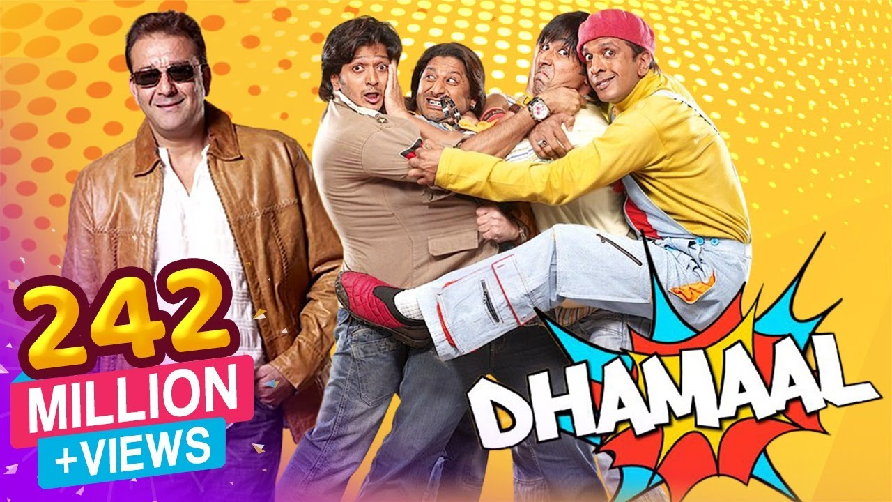 Download Dhamaal Hd - 2007 - Sanjay Dutt - Arshad Warsi - Superhit Comedy Film Video -7565
