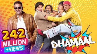 Dhamaal - 2007 - Sanjay Dutt - Ritesh Deshmukh - Arshad Warsi - Superhit Comedy Film(Dhamaal is about four friends afflicted by the get rich quick virus. Their fortunes take a turn after they accidentally bump into a victim who tells them about a ..., 2014-11-05T05:46:49.000Z)