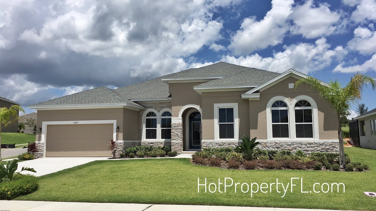 Farrel Model By David Weekley Homes Clermont Florida Youtube