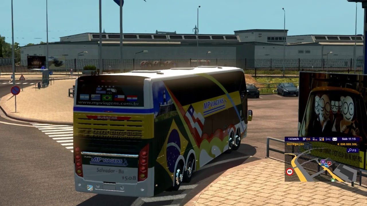 Euro Truck Simulator 2 - Promods 2.0 With Bus Full HD 2 - YouTube