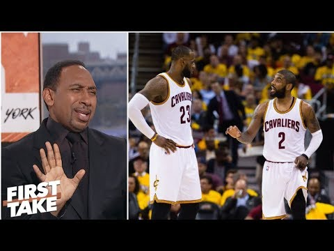 Stephen A. loves Kyrie saying leaving LeBron was best thing Ive done | First Take