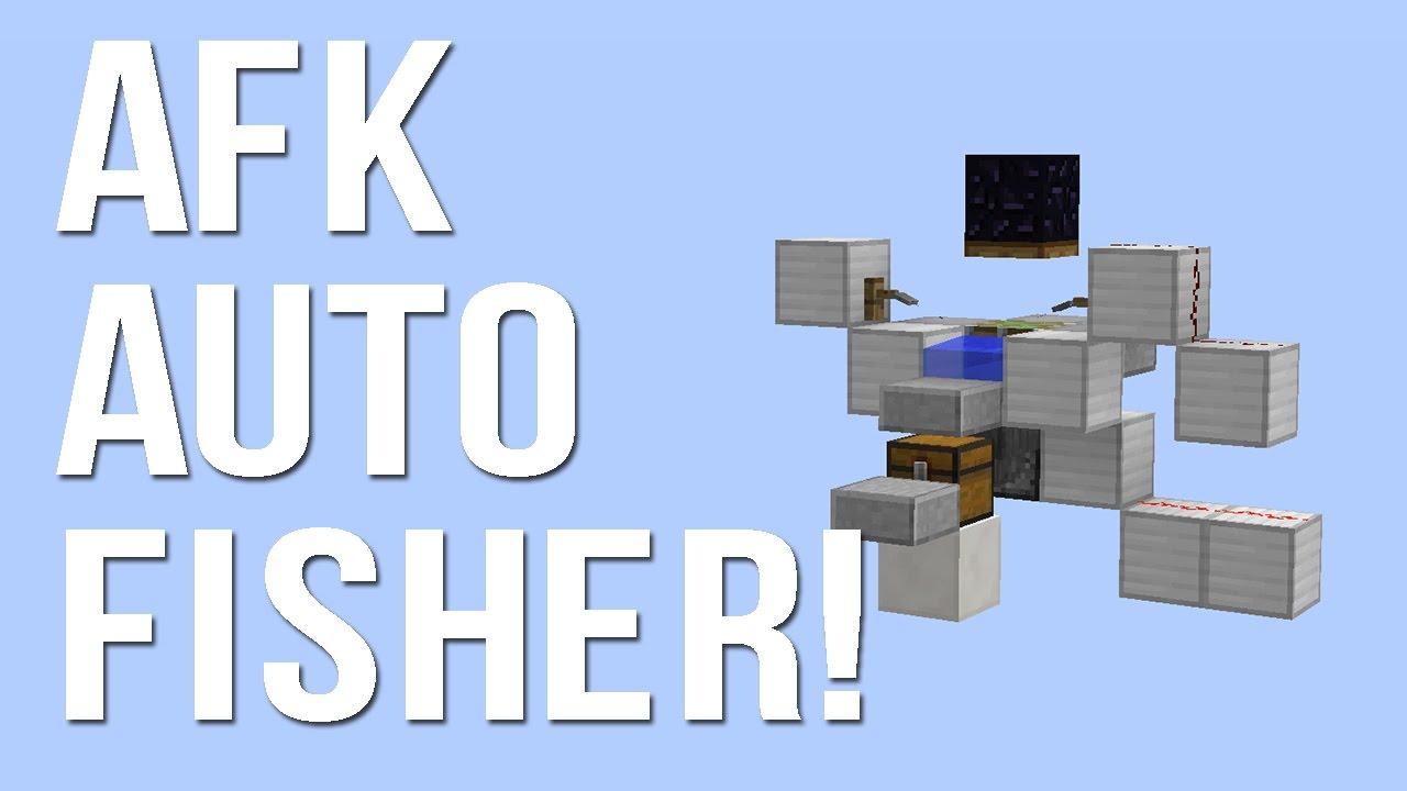 Minecraft AFK Fish Farm WORKS IN 1.11.2!! (UPDATED VERSION ...