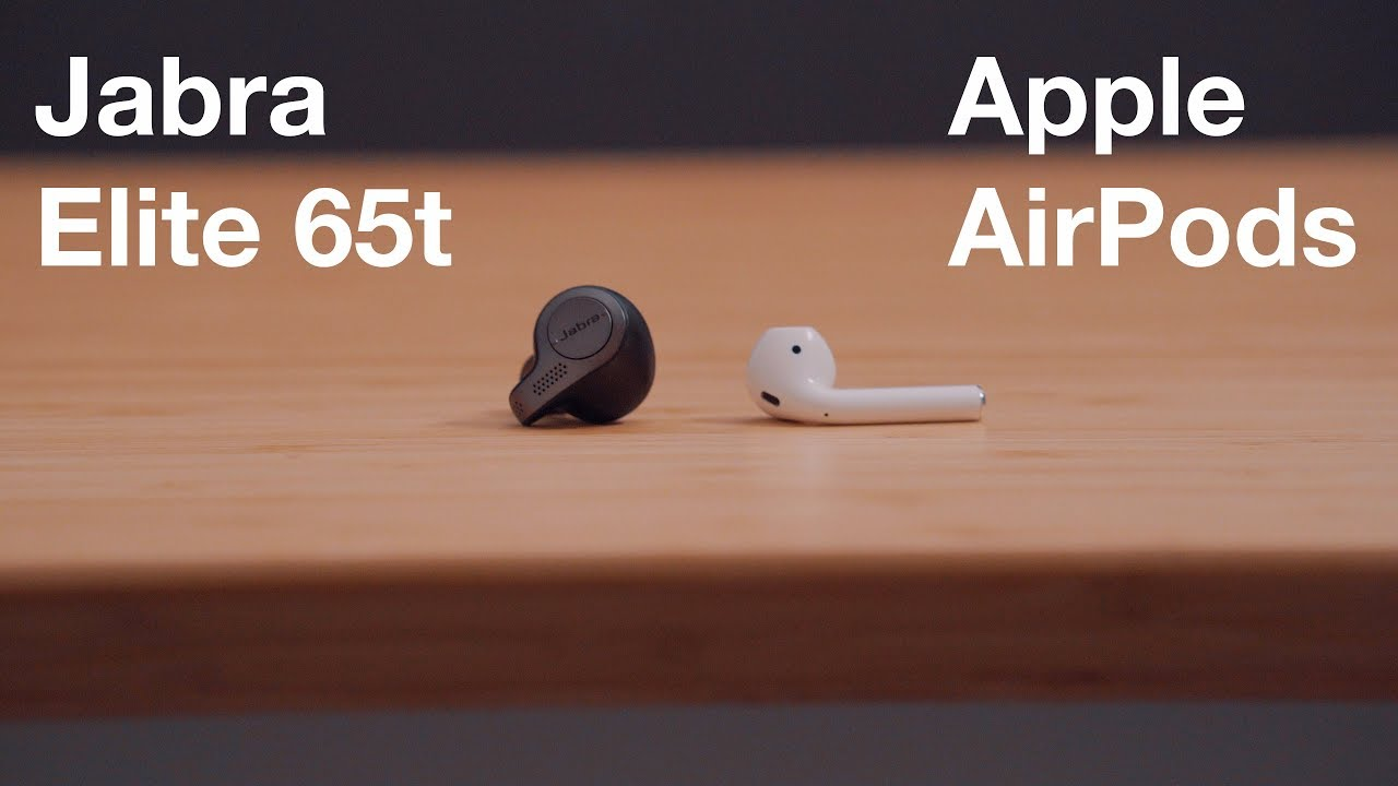 Best Airpods Alternative Jabra Elite 65t Vs Apple Airpods Youtube