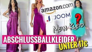 Abschlussballkleider UNTER 17€   Amazon & Joom   Positives Ergebnis   + mein eigenes Abiballkleid