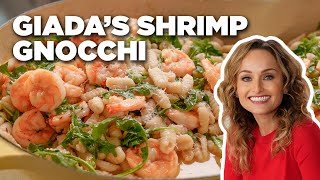 HOMEMADE Sardinian Gnocchi and Shrimp with Giada De Laurentiis