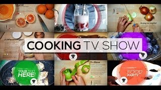 Cooking TV Show (After Effects Template)