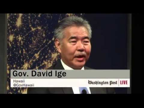 Powering Cities: Gov. Ige at Washington Post Live Forum