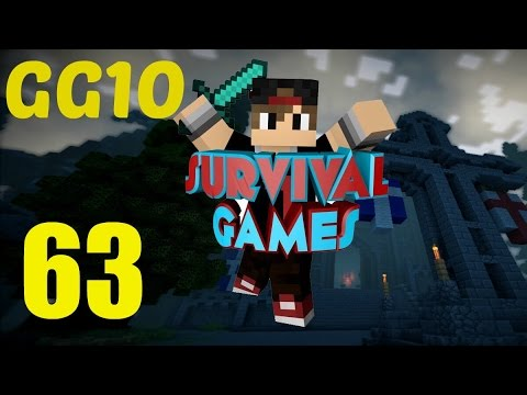 [Minecraft] Hunger Games Survival: EP 63- GG 10