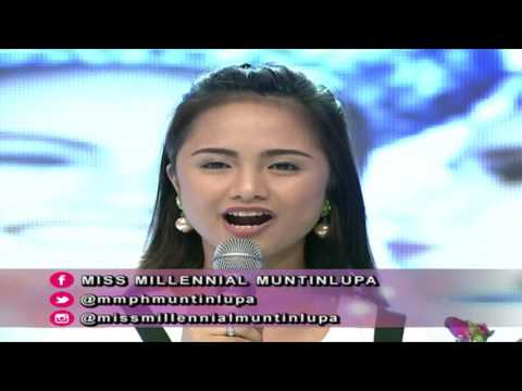 Miss Millennial Muntinlupa | August 8, 2017