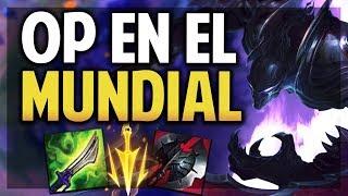 ¡LA BUILD PERFECTA! | OP EN EL MUNDIAL | NOCTURNE S8 | League of Legends