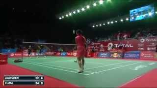Badminton World Championships 2015 -  R16 XD LIAO Min Chun CHEN Hsiao Huan vs XU Chen MA Jin