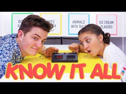 Know-It-All Challenge   Kamri Noel