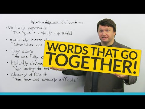 Words that belong together: Adverb-Adjective Collocations in English