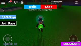 BUG De Speed Simulator ROBLOX⚫🔴🔵⚪
