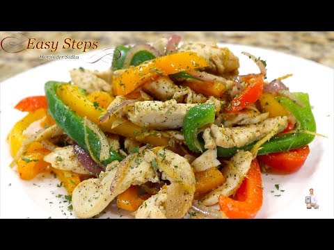 Easy Chicken Recipe With Bell Pepper and Onion