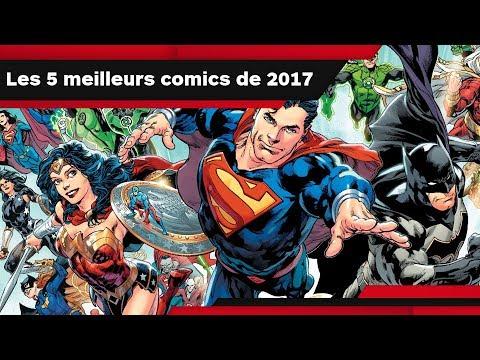 LES 5 MEILLEURS COMICS DE 2017 d'IGN France