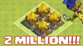 2 MILLION LOOT AND 6K DARK ELIXIR LOOT | DEAD BASE LOOT RAID | CLASH OF CLANS✔