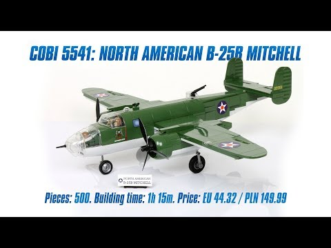 [COBI 5541] North American B-25B Mitchell review & speed build