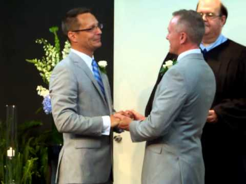 First Gay Marriage Ceremony in Sussex County, DE