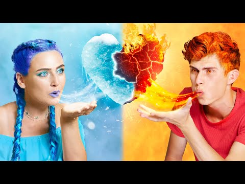 Hot vs Cold|| The Love Story Of Hot Man with Cold Girl