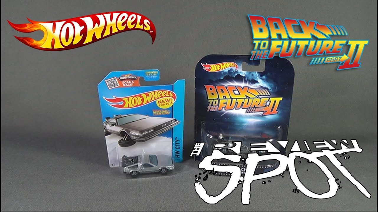 Collectible Spot Hot Wheels Back To The Future Part Ii