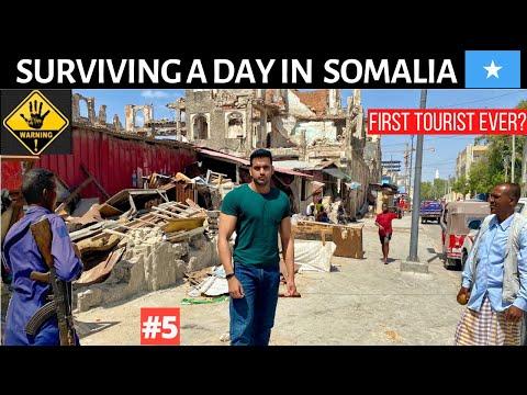 SURVIVING A DAY IN MOGADISHU - SOMALIA 🇸🇴