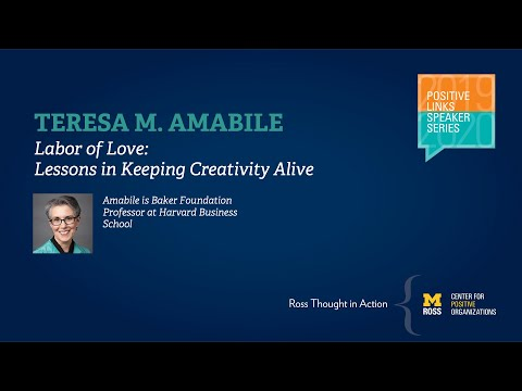 Labor Of Love: Lessons In Keeping Creativity Alive