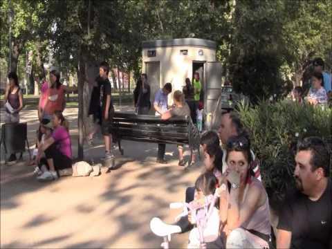 Santiago de Chile - Santa Lucia Hill & Plaza de Armas