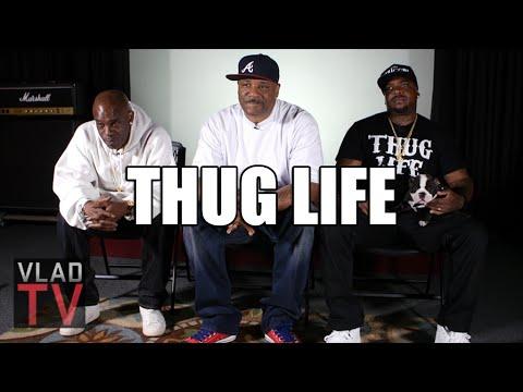 Thug Life Details Meeting 2Pac, Gang Affiliation, Pac's Thug Life Tattoo
