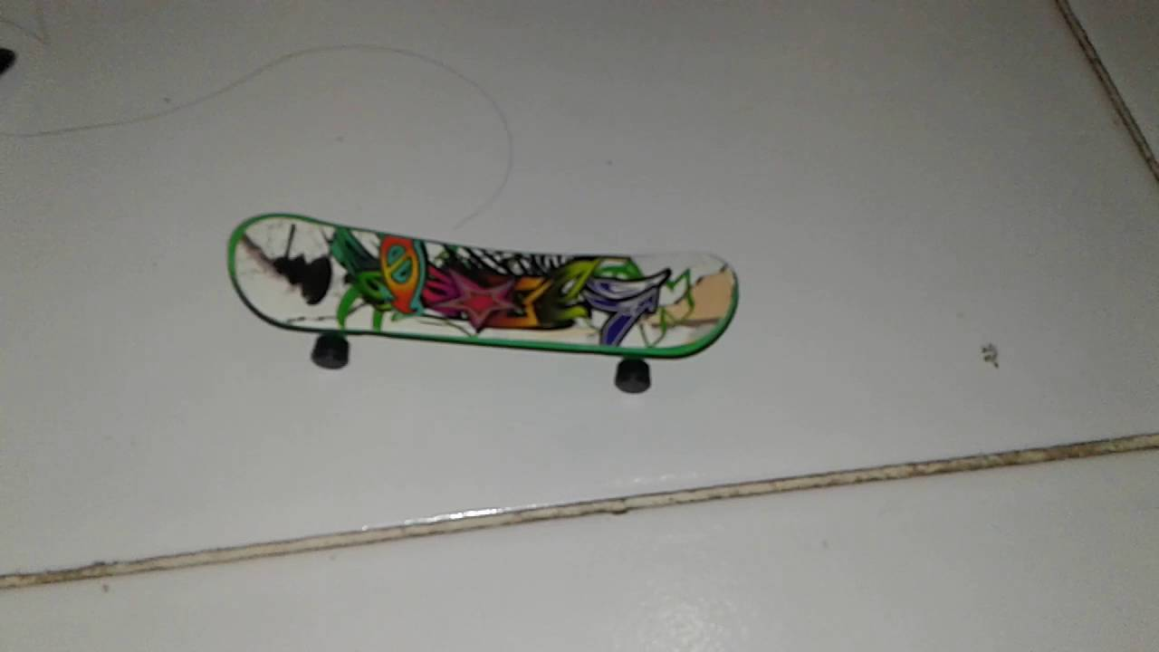 Trik Skeatboard Mini Youtube Mainan Anak Tech Deck Skateboard Finger Board