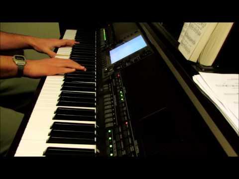 Jesus Paid It All - piano hymn with lyrics