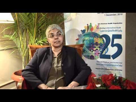 Celia Poon-King (Trinidad & Tobago) - International Health