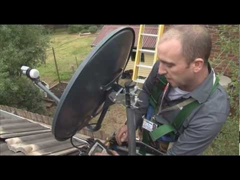 Foxtel Satellite Wiring Diagram For Headlight Dimmer Switch Setting Up The Dish Youtube