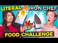 Cooking With A REAL Iron? | Literal Iron Chef Challenge